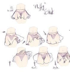 Flatternde Röcke