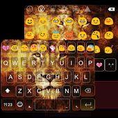 Wild Lion Emoji Keyboard Theme