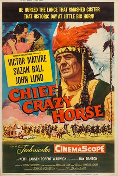 Chief Crazy Horse - 1955 - George Sherman - Victor Mature