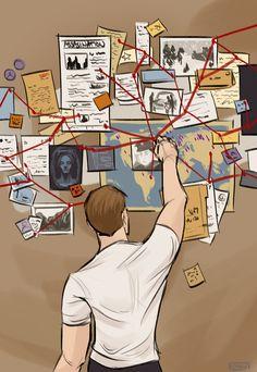 Steve Rogers looking for Bucky Fan Art... ALL THE FEELS!!