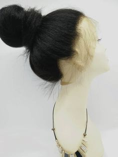 Brazilian virgin 360 Lace Frontal closure kinky straight,mimic African American - Bea Hairs