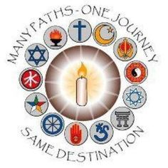"Many Paths - One Journey - Same-Destination ""Truth is but one. The sages speak of it by many names!"" --Joseph Cambell ............ Unite in our humanity, and stop celebrating  how we segregate and discriminate in the holy name of diversity!  -DAK-"