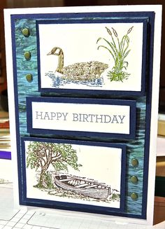 Moon Lake Stamp Set, Adventure's Abound dsp paper stack, Crazy about you Stamp set