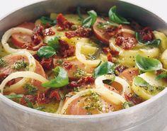 Italiensk pølsegryde er populær aftensmad til hverdag og til gæster - Måltid
