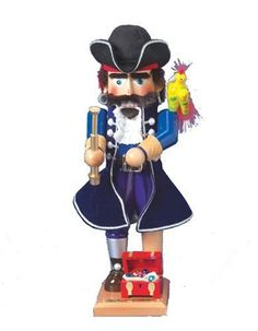 $433.50 Kurt Adler Steinbach 17-Inch German Nutcracker Pirate Series, Long John Silver - 17-Inch Steinbach Long John Silver Nutcracker. 1st in Pirate Series. Limited Edition 7,500 pieces. http://www.amazon.com/dp/B000F4BP4Q/?tag=pin2wine-20