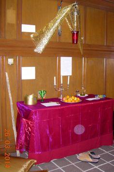 Psalm 23 table for 24hr prayer
