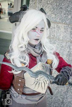 Dragon Age Qunari Cosplay