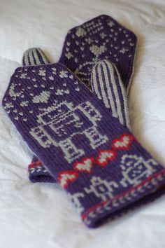 MalMarch Robot Mittens | Flickr - Photo Sharing!
