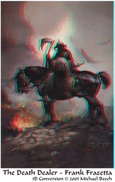 3D conversion Anaglyph by Michael BEECH.