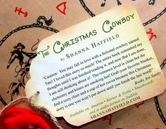 The Christmas Cowboy - A sweet western romance by Shanna Hatfield. Book sales benefit the Justin Cowboy Crisis Fund through Dec. 24. Tate Morgan can handle the wildest bronc on the rodeo circuit but trying to tame Kenzie Beckett is an entirely different matter... http://amzn.com/B00FYAXJXG
