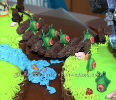 Coolest Skylanders Cake ... This website is the Pinterest of birthday cakes