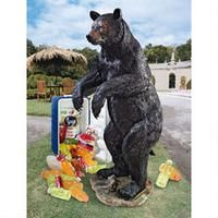 Fishing Hunting Bear Statue Large Outdoor Garden Life Like