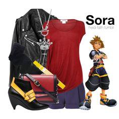 """""""Sora (Kingdom Hearts)"""" by heidifaith on Polyvore"""