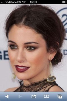 blanca suarez..gorgeous makeup!