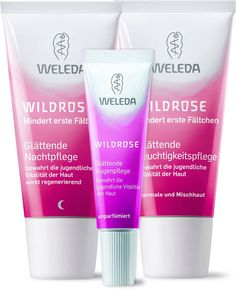 Weleda Wild Rose Face Care Set