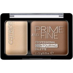 Catrice Prime & Fine Professional Contouring Palette Warm Harmony 020