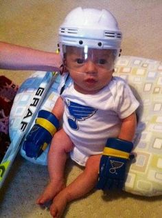 Is it just me or do these rookies get younger every year? @St. Louis Blues