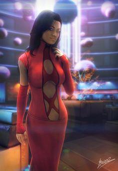 Miranda Red dress by brinx-II on deviantART