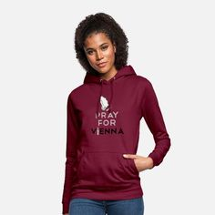 PRAY FOR VIENNA WIEN ANSCHLAG Sweat Streetwear, Mode Streetwear, Fashion Mode, Grunge Fashion, Hoodie Outfit, My Outfit, Shirts & Tops, Sweat Shirt, T Shirt Citations