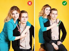 10 Tricks To Help Any Couple Become As Photogenic As Hollywood Stars. 10 Tricks To Help Any Couple Become As Photogenic As Hollywood Stars. Best Photo Poses, Picture Poses, Photo Tips, Couple Photography Poses, Photography Lessons, Portrait Photography, Yellow Photography, Free Photography, Photography Business