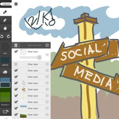 Adobe Idea. The best idea skechbook app with layers.