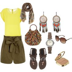 Aprovecha el sol, created by isabeliche2012 on Polyvore