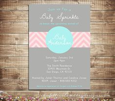 Your place to buy and sell all things handmade Shower Baby, Baby Shower Parties, Baby Sprinkle Invitations, Sprinkle Shower, Reveal Parties, Pregnancy Tips, Gender Reveal, Baby Ideas, Newborn Photography