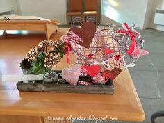 Valentinstag und Bloggeburtstag Natural Garden, Valantine Day, Plants, Dekoration, Nice Asses