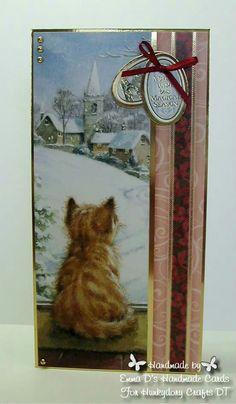 Hunkydory Crafts Santa Paws - DT cards I made Fall Cards, Christmas Cards, Craft Projects, Projects To Try, Hunkydory Crafts, Heartfelt Creations, Handmade Cards, Card Ideas, Santa