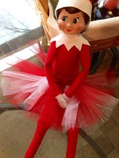 Elf tutu for elf on a shelf