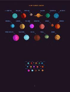 Planets Set by VectorPixelStar on @creativemarket
