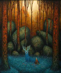 Les Peintures fantastiques de Andy Kehoe (2)