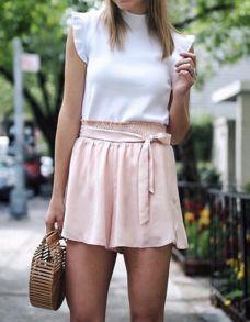 Top: http://shopstyle.it/l/Wxm   Shorts: http://shopstyle.it/l/Wv8