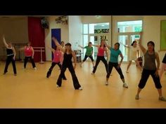 Zumba dance to Grease Lightning--Last class in Oberursal Germany.