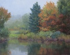 Autumn Down East by Kathleen Dunphy Oil ~ 16 x 20