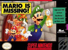 Emularoms: Mario is Missing [ SNES ]