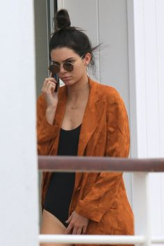 Pin for Later: Kendall Jenner's Sexy Spin Around Cannes Is Causing a Stir