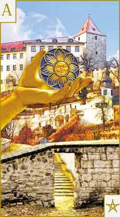 """The Tarot of Prague: A Tarot Deck Based on the Art and Architecture of the """"Magic City"""" Ace Of Pentacles, Le Tarot, Fortune Telling Cards, Online Tarot, Magic City, Major Arcana, Oracle Cards, Sacred Art, Tarot Decks"""