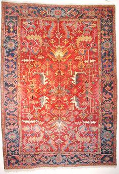 Heriz - Tschebull Antique Carpets