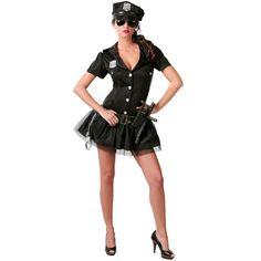Disfraz de Policía Mujer Falda