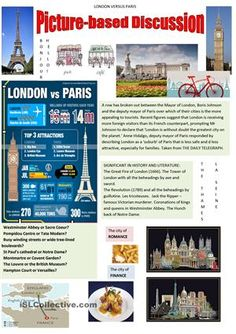 I would choose Paris every time, but I've tried to be objective.  - ESL worksheets