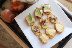 Crostini Trio. Gourmet appetizers. Ready in less than 30 minutes.