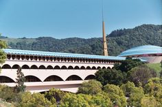 Marin County Civic Center, San Rafael, CA. A Frank Lloyd Wright design. Stunning.