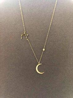 Zodiac Jewelry, celestial jewelry, Constellation Necklace, Gift for Women, astrology necklace, zodiac necklace