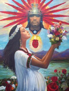 Mother Earth ~ Father Sky By Richard Ortega