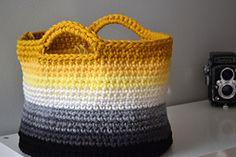 Ravelry: Ombre Basket pattern by Elizabeth Trantham