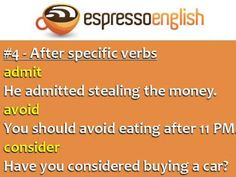 How to use the -ING form of verbs in English