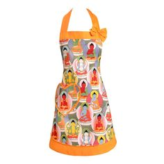 Buddha Blessing Apron by Carolyns Kitchen on POP.COM.AU