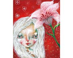 Lily - an original painting by Micki Wilde