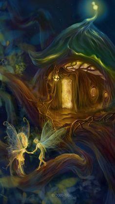 Working With The Magic of Nature Spirits Fairy Myth Mythical Mystical Legend Elf Faerie Fae Wings Fantasy Elves Faries Sprite Nymph Pixie Faeries Hadas Enchantment Forest Whimsical Whimsy Mischievous Fairy Dust, Fairy Land, Fantasy World, Fantasy Art, Fantasy House, Princesas Disney Dark, Elfen Fantasy, Love Fairy, Beautiful Fairies